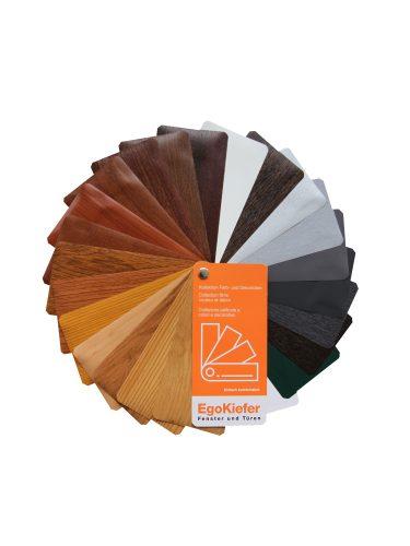Farb-und-Dekorfolienfächer