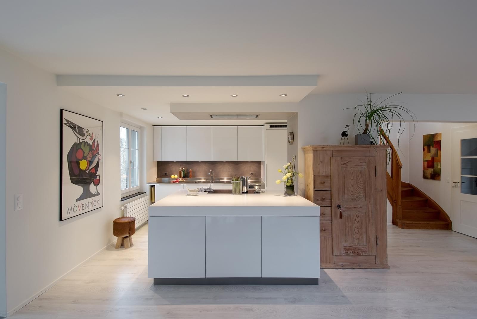 küchenidee - weiss ist eine farbe … - bautrends.ch