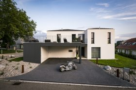 Architektenhaus #WHITE_STONE