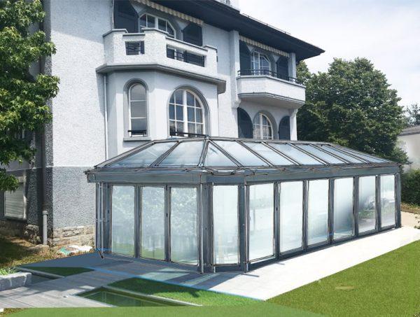 Konzept Gartenhaus