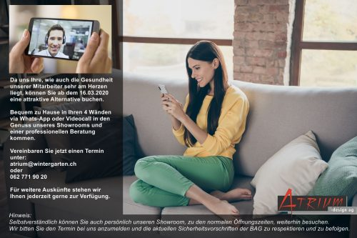 Virtuelle Showroomberatung