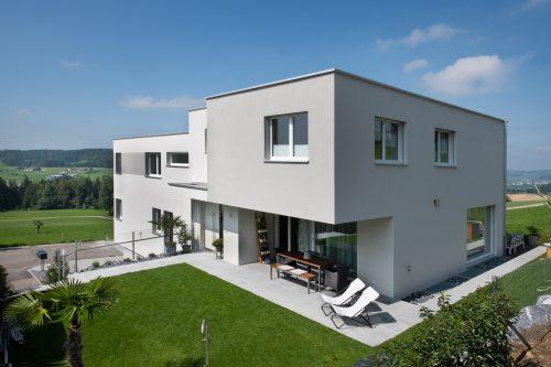 Doppeleinfamilienhaus in Kirchberg SG