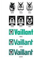 Vaillant Logo - historische Entwicklung