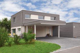 Einfamilienhaus mit Doppelcarport