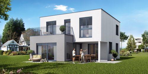 schlüsselfertiges Haus bauen