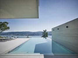 Freie Sicht für den Schwimmber