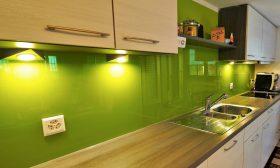 küchenrückwand grün