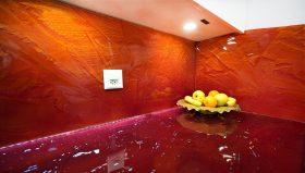 küchenrückwand orange