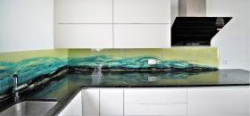 küchenrückwand wave 2