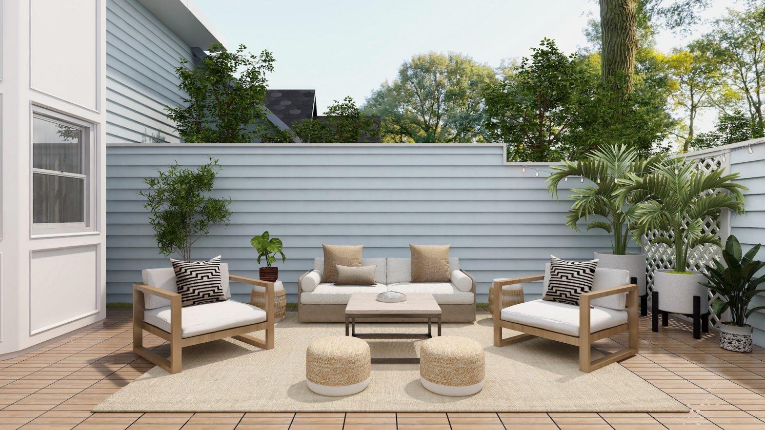 So verwandeln Sie Ihre Terrasse in eine Wohlfühloase
