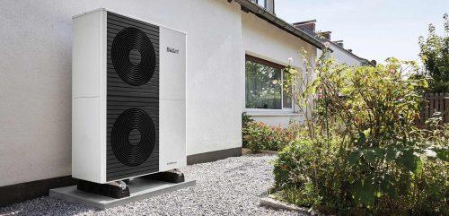 Luft/Wasser-Wärmepumpensystem